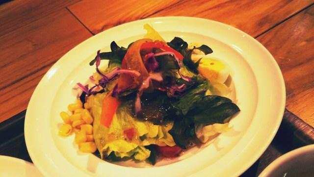 カフェYOSHIMIのサイドサラダ