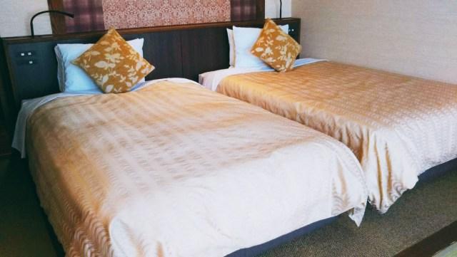 ホテル志戸平「ベッドルーム」