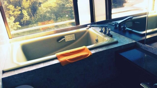ホテル志戸平の部屋風呂