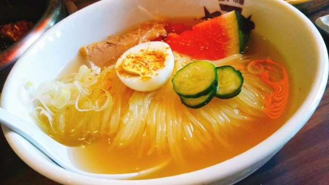 焼肉・冷麺ヤマトの冷麺