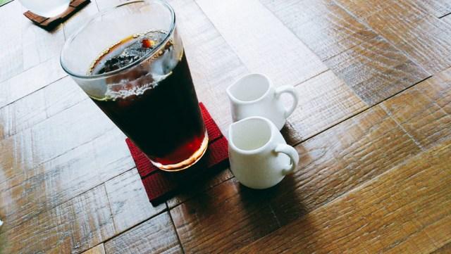 盛岡のカフェヴィクトリアのアイスコーヒー