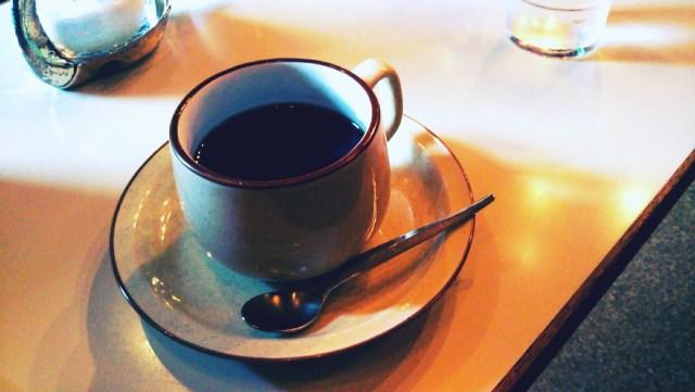 盛岡にあるチーズケーキのチロルのコーヒー