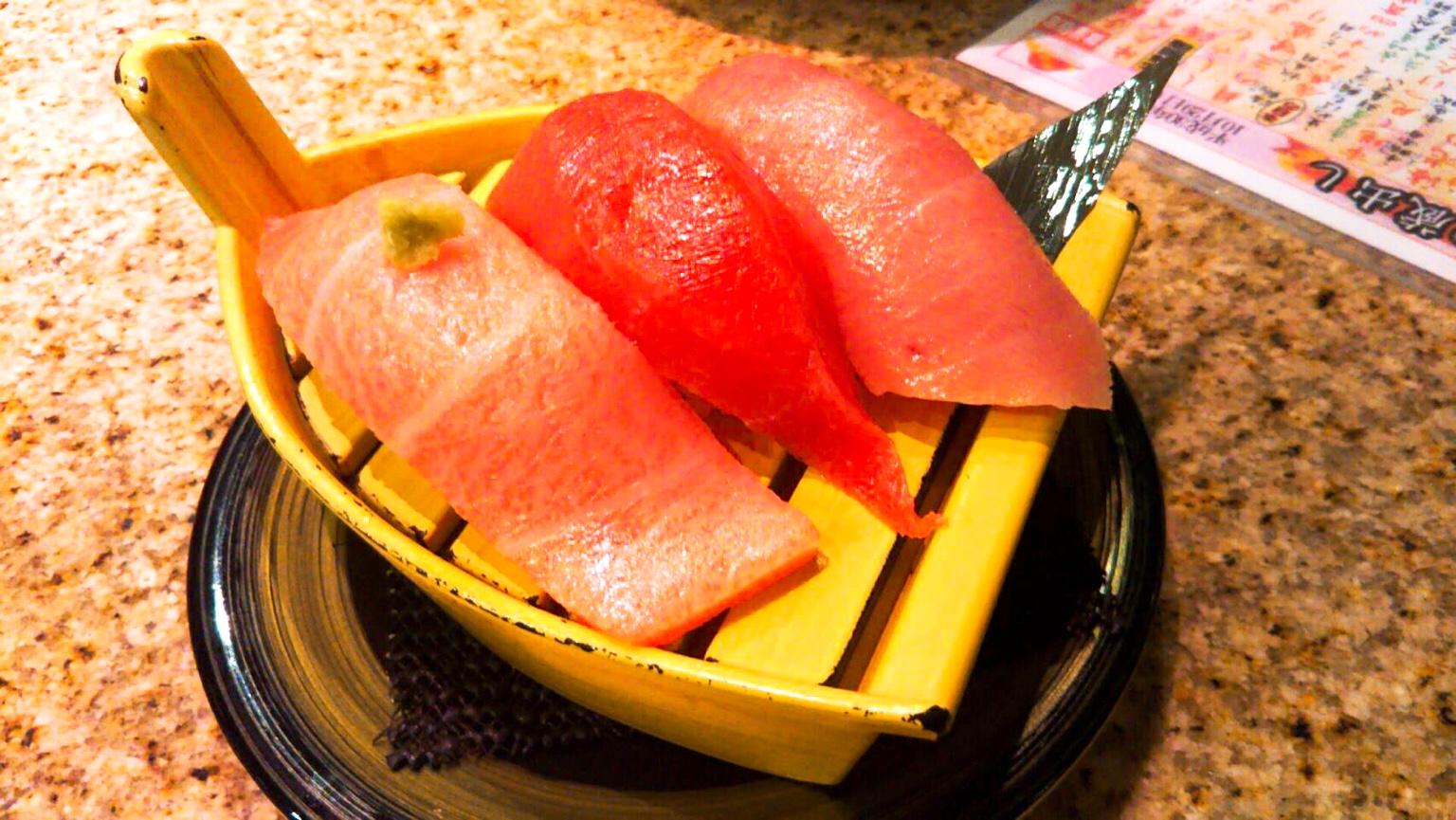盛岡駅でお寿司のランチ!美味しい回転鮨 清次郎 in 岩手