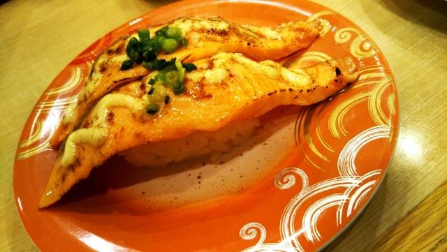 トリトンの炙りサーモンマヨ