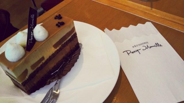 プティメルヴィーユのキャラメルケーキ
