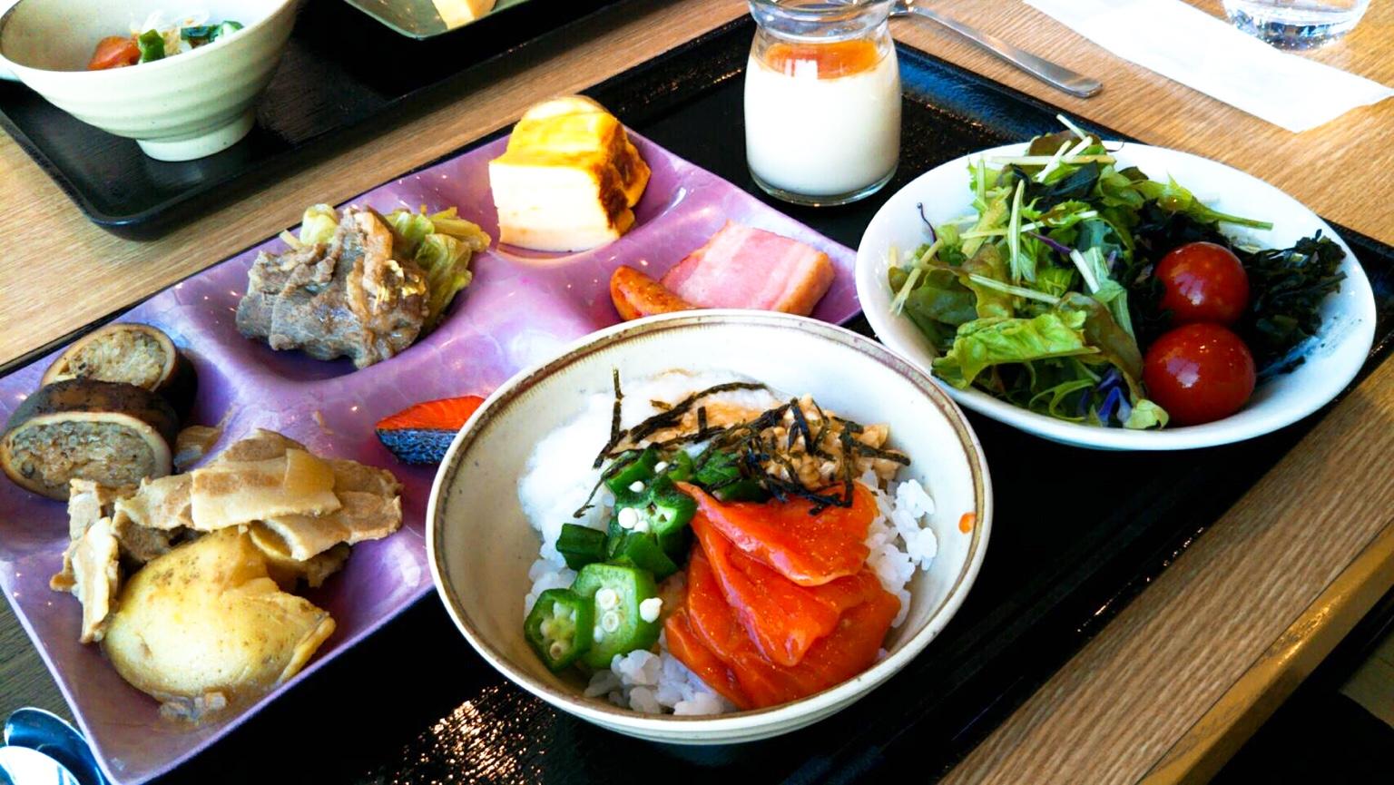 新函館北斗駅のホテル「ラ・ジェント・プラザ」道南食材が並ぶ朝食が美味しい!