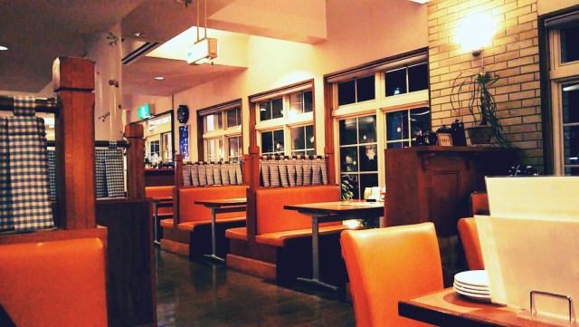 盛岡のレストラン「セザンヌ」の店内