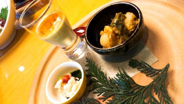 十和田ホテル夕食の前菜