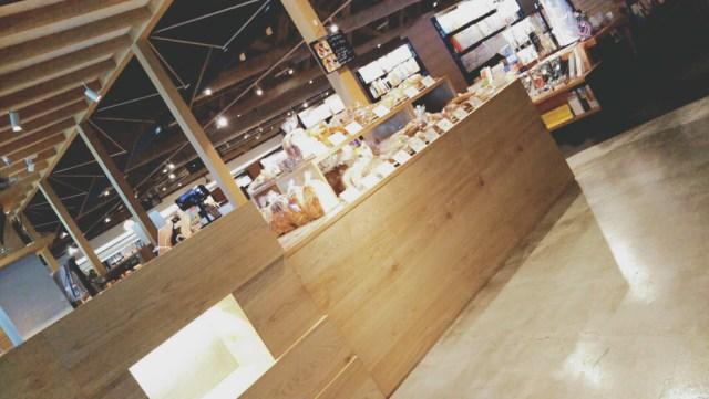 函館蔦屋書店のカフェFUSU(フースー)のパンコーナー