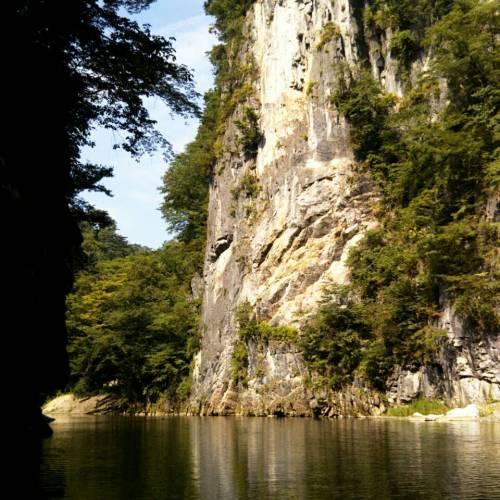 日本百景の「猊鼻渓」へ!舟下りしてきました〜岩手県一関市〜