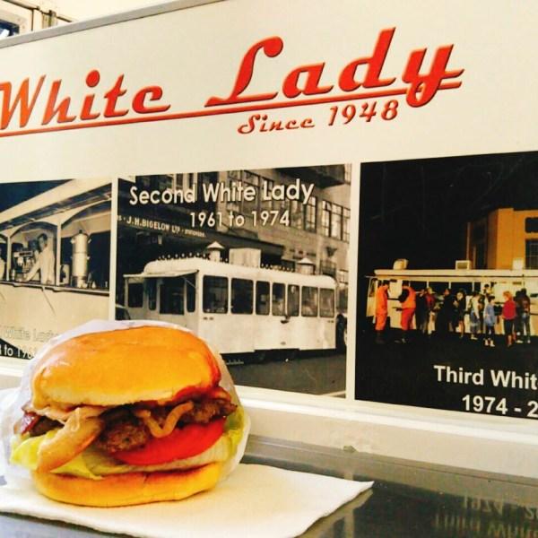 オークランドの絶品おすすめハンバーガー「The White Lady」(ホワイトレディ)!