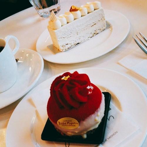 ペシェ・ミニョンのケーキ!函館五稜郭にてカフェタイム