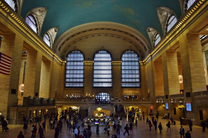 Grand Central during the daytime.