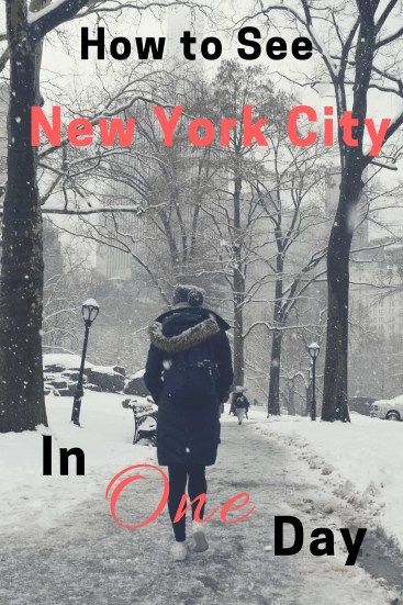 New York City is full of incredible destinations, and with limited time to spend in the city, its difficult to decide what to do. If you have one day in Manhattan, follow this guide so you won't miss out on all NYC has to offer.
