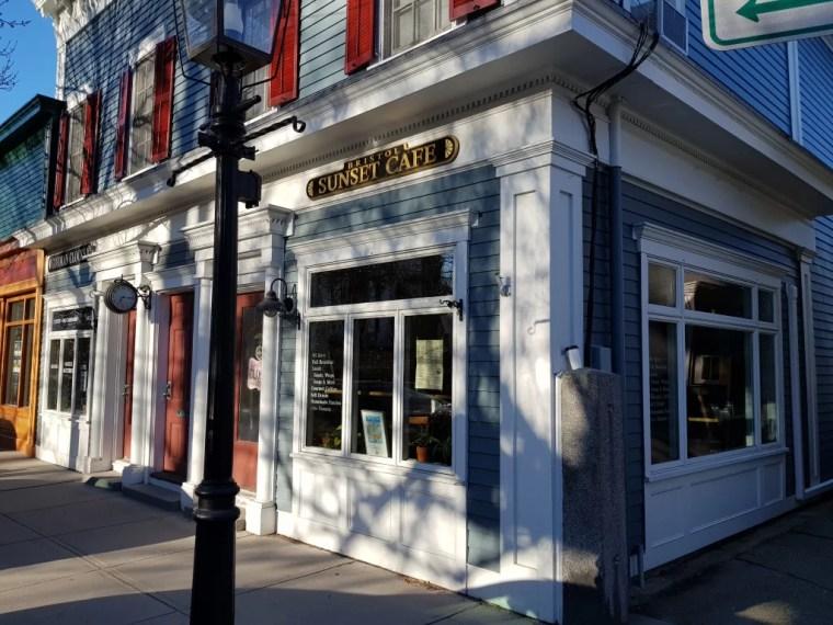 Sunset Cafe in Bristol, Rhode Island.