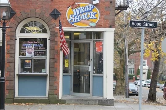 Papa Joe's Wrap Shack in Bristol, Rhode Island.