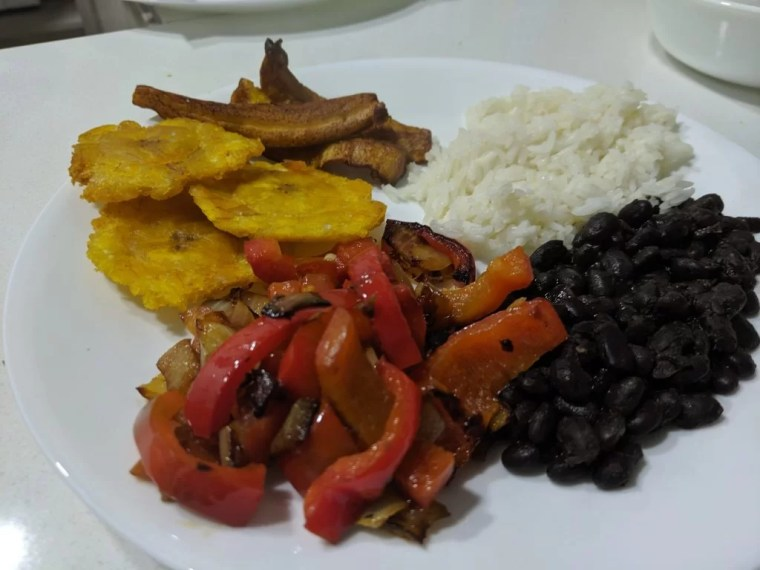Homemade meal a la Erin and Brandon inspired by Colombian cooking class