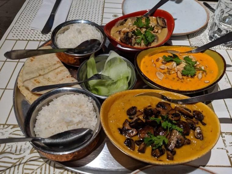 Naan Restaurant in Medellin Colombia.