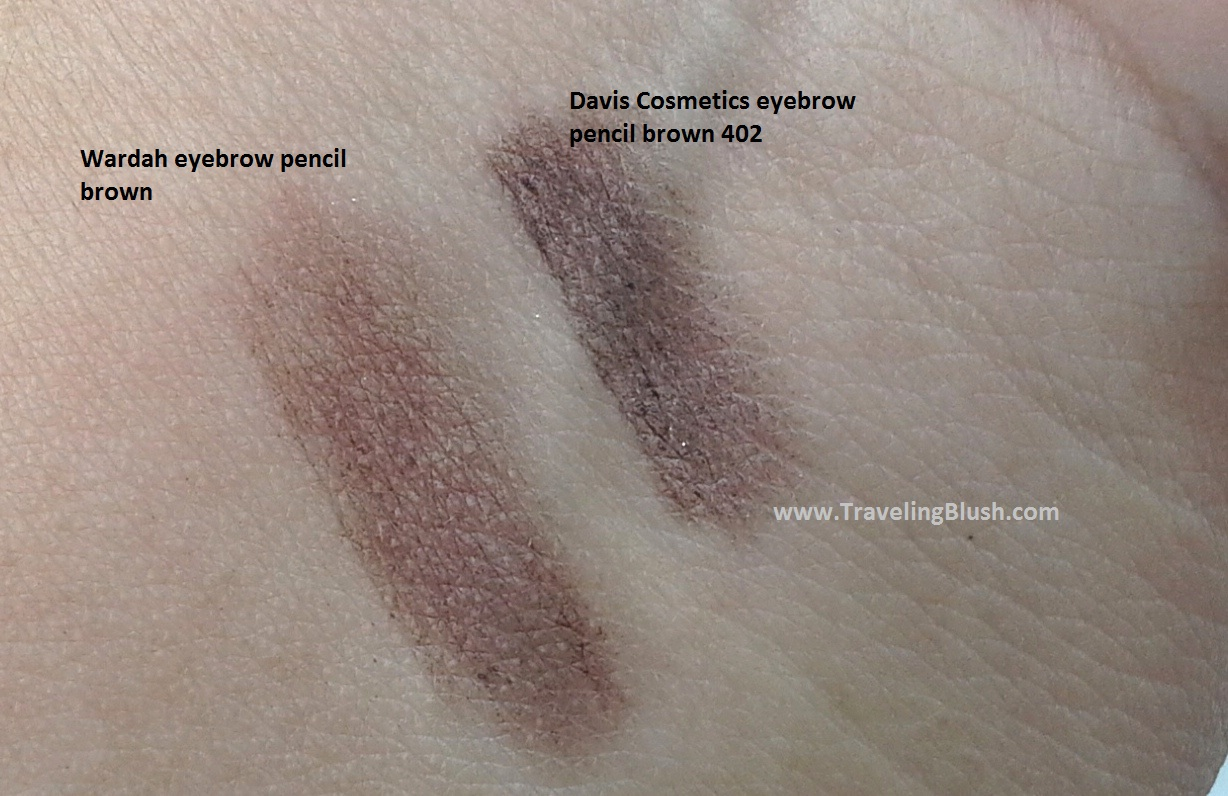 Review And Swatches A Perfect Brown Eyebrow Pencil Travelingblush