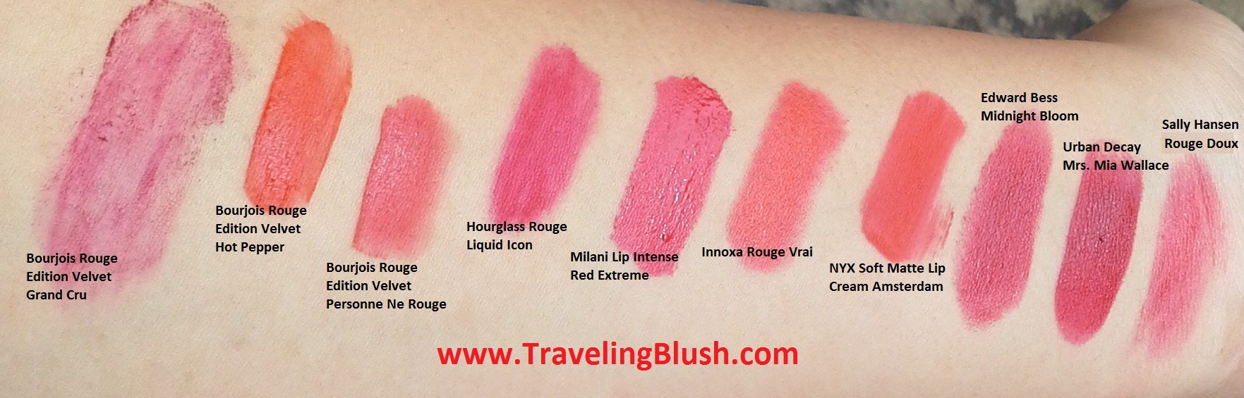 Lip Color Page 3 Nyx Soft Matte Cream All Variant Red Comparisons Natural Light Click To Enlarge