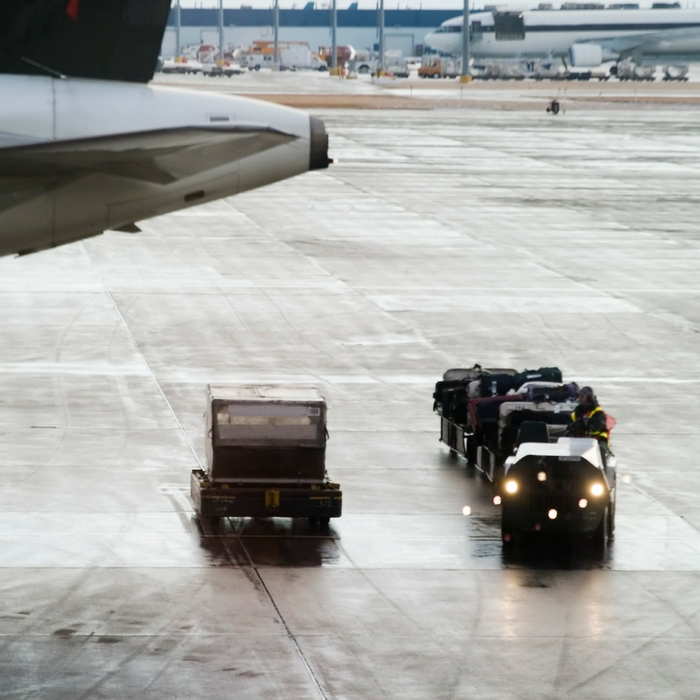 Air travel luggage
