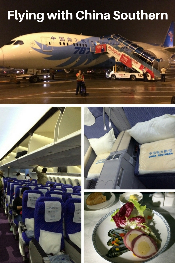 Flying with China Southern