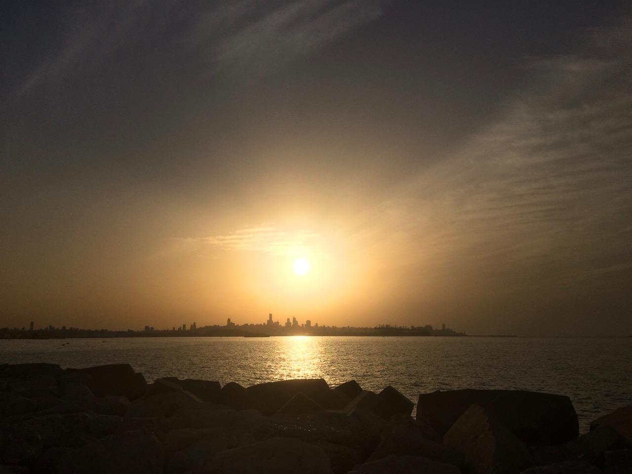 Beirut sunset