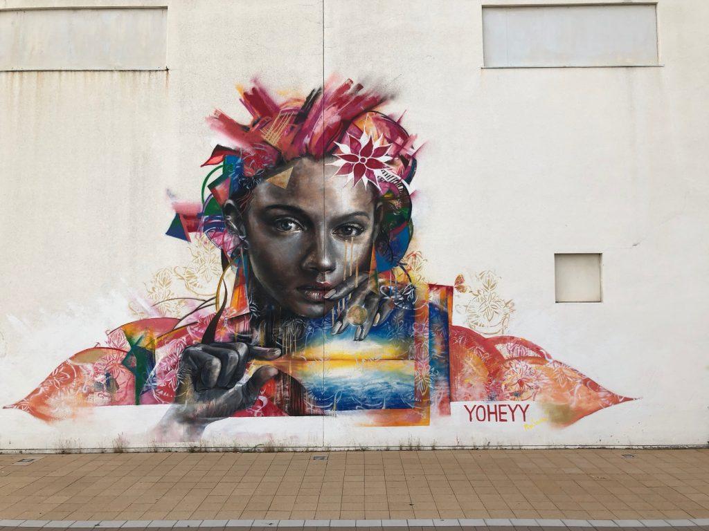 Yoheyy street art