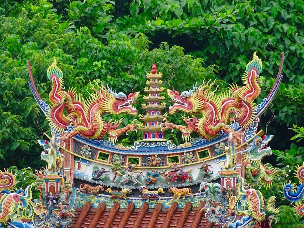 Taoist temple in Taiwan