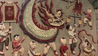 Phung Hung Street Art Brings Back Memories of Hanoi