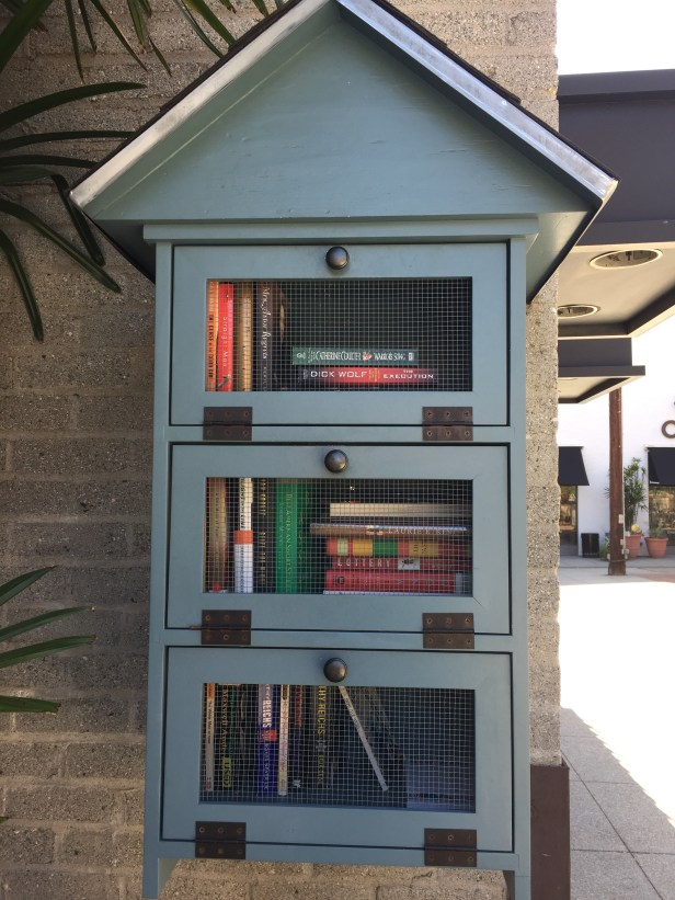 Little Free Library. Take a book. Leave a book.