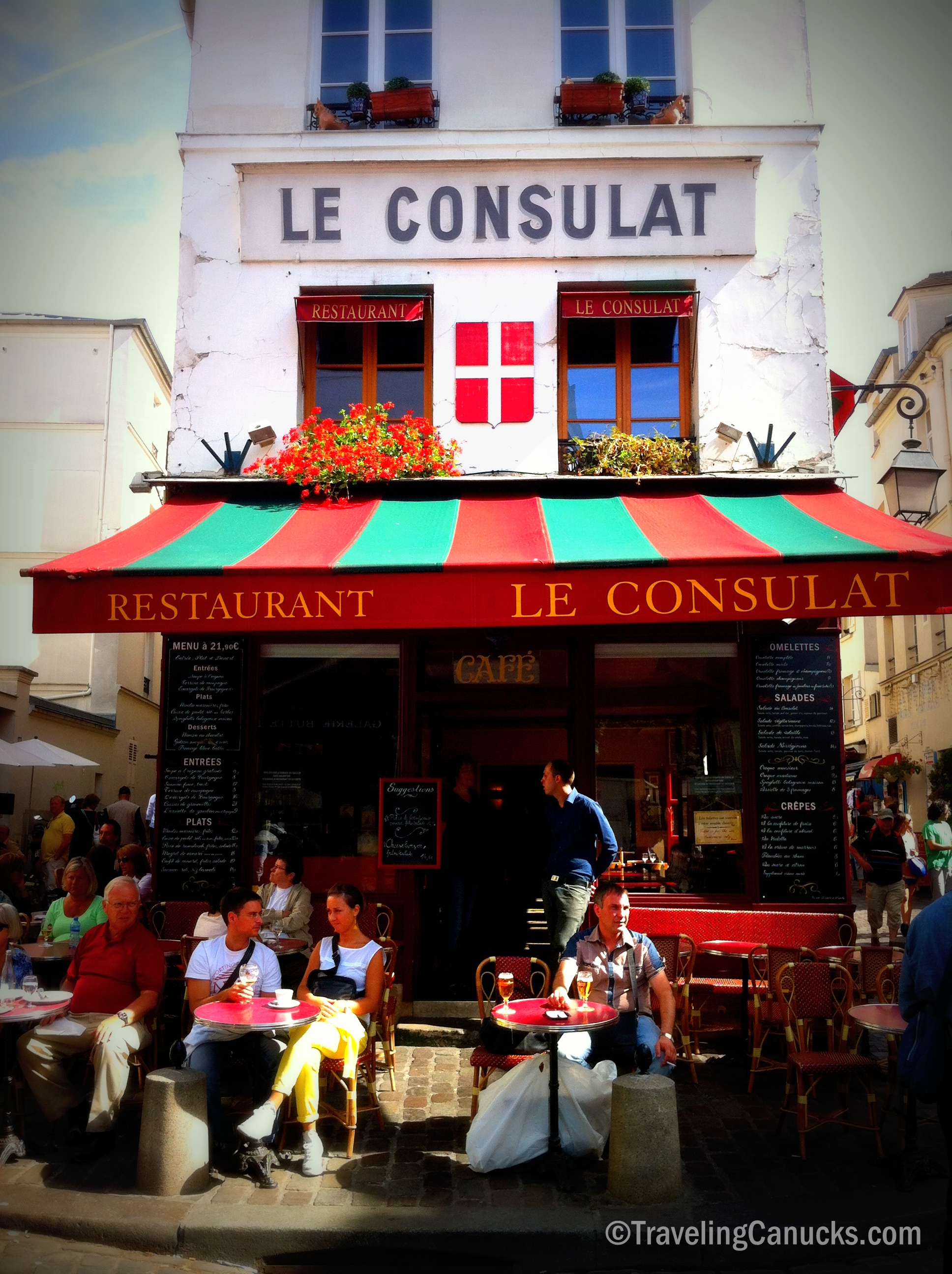 Photo of the Week Le Consulat in Montmartre Paris