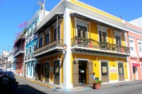 The colourful streets of Old San Juan, Puerto Rico ...
