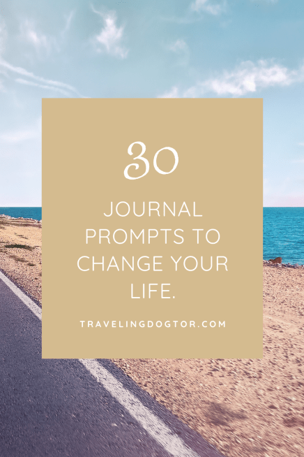 30 journal prompts to change your life