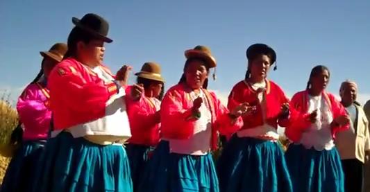 Uros Cultural Dance