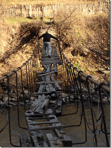 Rickety Old Foot bridge