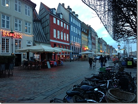 Nyhavn houses and bikes