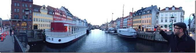 Nyhavn Panorama of the Canal