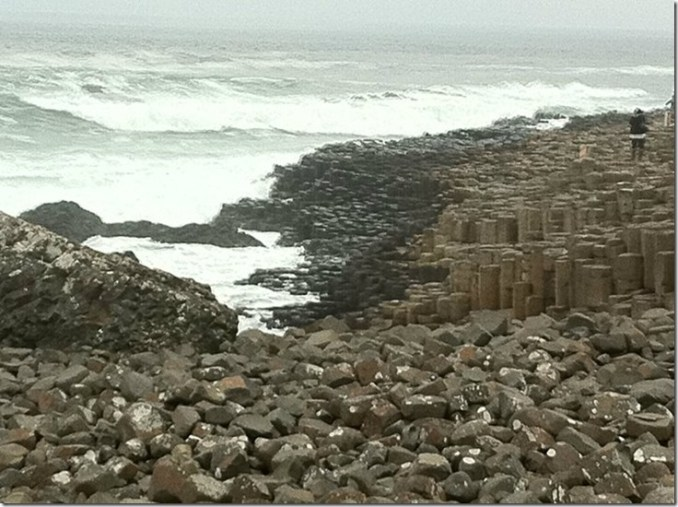 Giants Causeway beach, Northern Ireland
