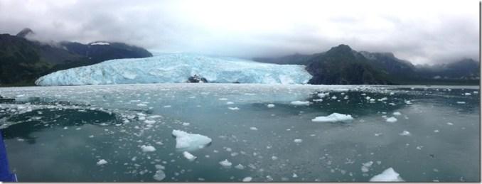 Fjords with Calving Glacier