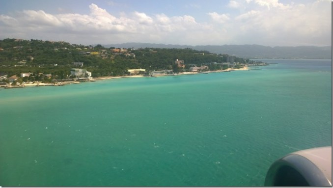 Jamaica from the air