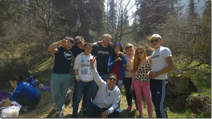 Kyrgyz teens