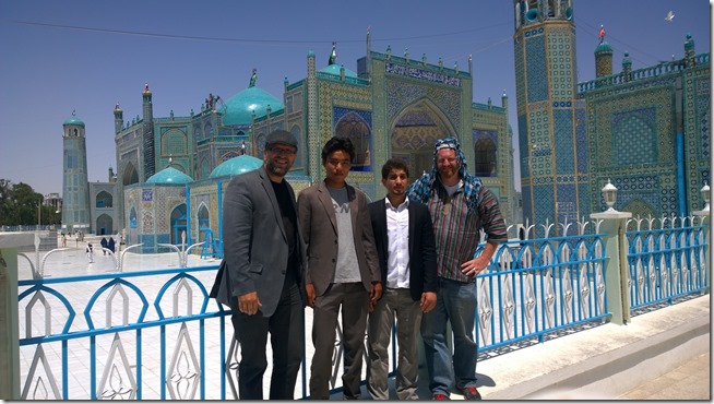Blue Mosque of Mazar-e Sharif