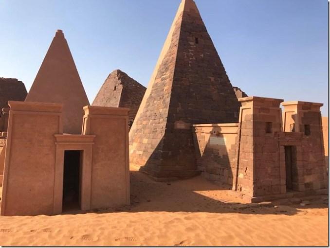 Nubian Pyramids of Sudan