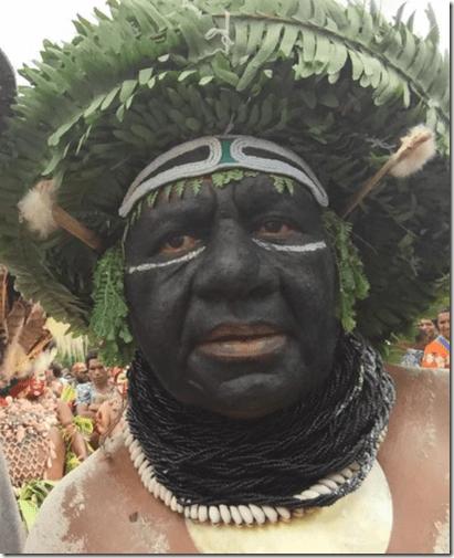 Enga Tribal Dancer