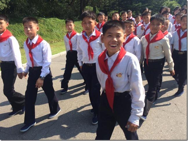 North Korean Happy Kids