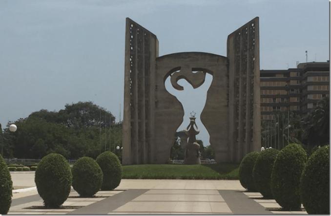 Togo monument