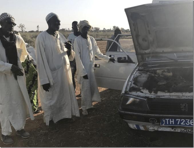 broken down car in senegal