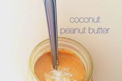 Coconut Peanut Butter Recipe