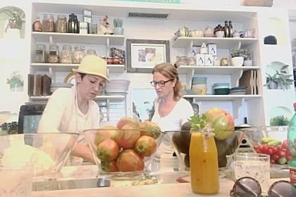 organic food positano